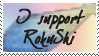 RokuShi supporter stamp by MrsZeldaLink