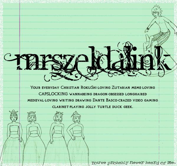 MrsZeldaLink's Profile Picture