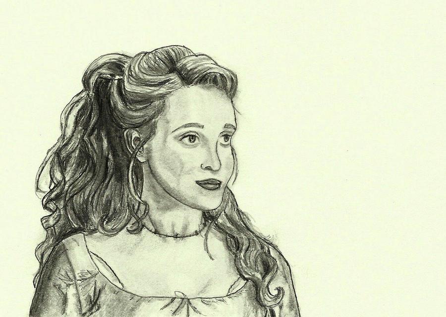 Brandi Burkhardt as Lucie by MrsZeldaLink