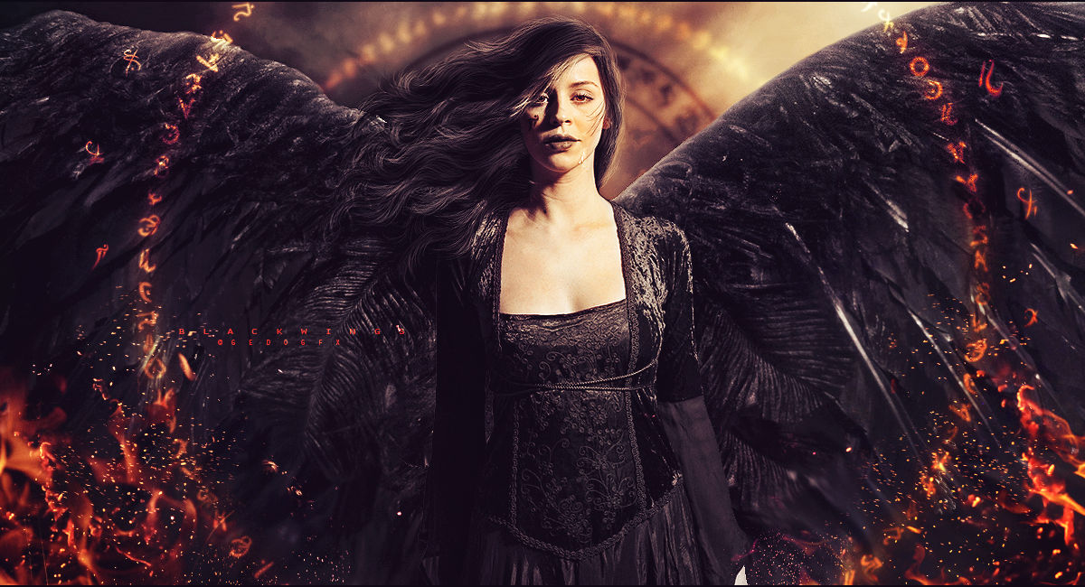 Black Wings by Gedogfx
