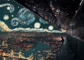 Midnight in London ft. Starry Night