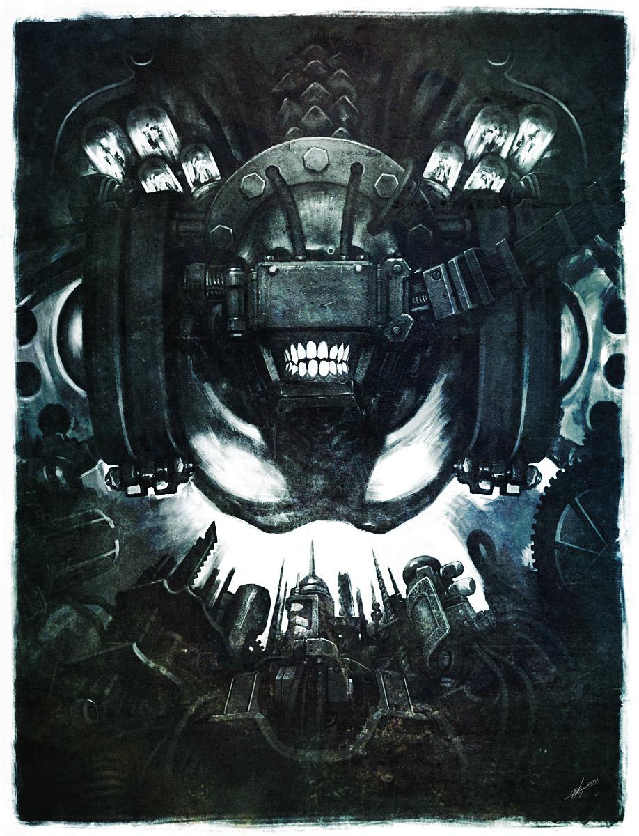 iron mask by panchok