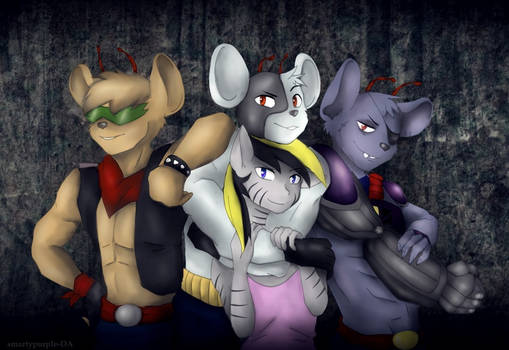 Sly and the biker mice