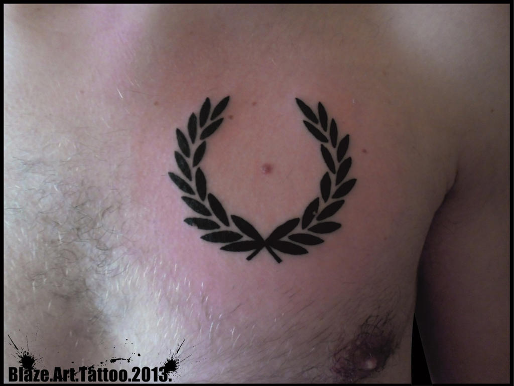 olive wreath tattoo by blazeovsky on deviantart. Black Bedroom Furniture Sets. Home Design Ideas