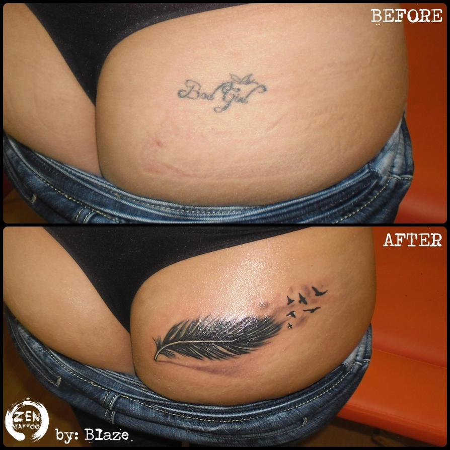 Feather cover up by bLazeovsKy