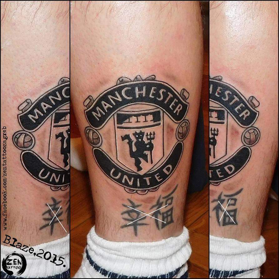 Manchester United Tattoo By Blazeovsky On Deviantart