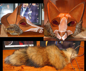 Kitsune Mask by spellwing777