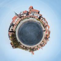 Little Planet Torun by RadoslawSass