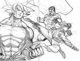Idols - sketch by mikemaluk