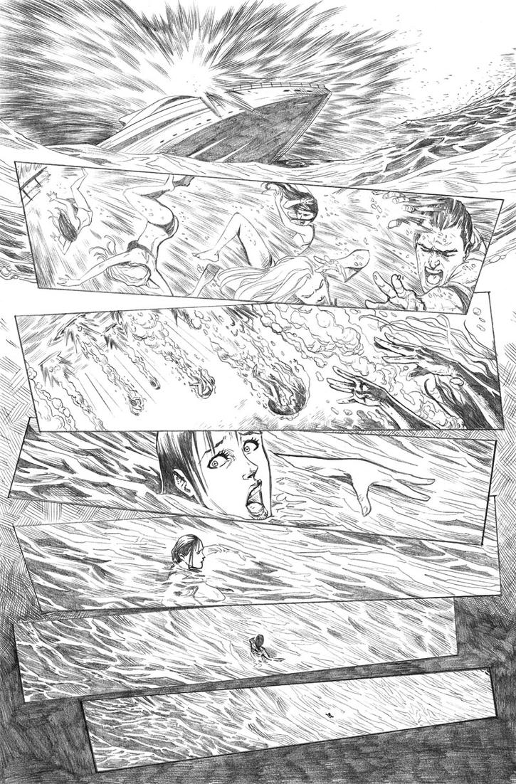 Little Mermaid #1 Page3 by mikemaluk