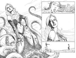 LittleMermaid#1 Pages16-17 by mikemaluk