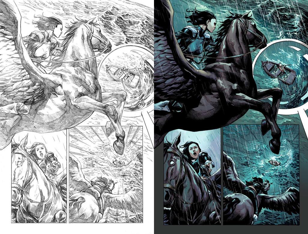 Wonder Woman #50 Page 32 by mikemaluk
