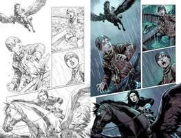 Wonder Woman #50 Page 33 by mikemaluk
