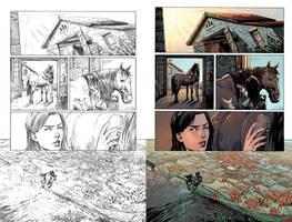 Wonder Woman #50 Page 37 by mikemaluk