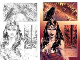 WonderWoman#51 page 1 by mikemaluk