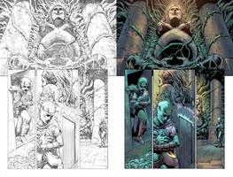 Wonder Woman #52 Page 2 by mikemaluk