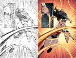 Wonder Woman #52 Page 7 by mikemaluk