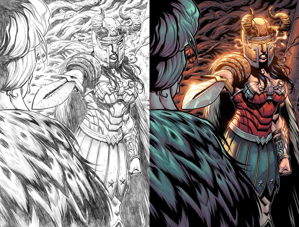 Wonder Woman #52 Page 14 by mikemaluk