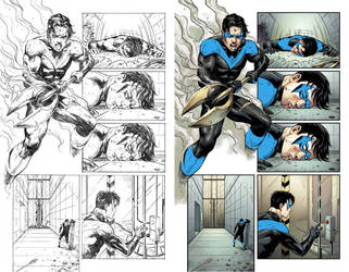 Nightwing#24 Page 17 by mikemaluk