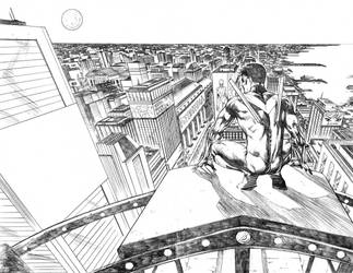 Nightwing#30 Page 2/3 by mikemaluk