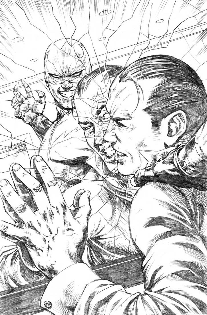 Nightwing#31 pencils 002  by mikemaluk