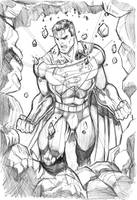 superman arrival by mikemaluk