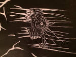 skull creeper print