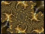 Gold rush (poem-fractal pong11) by poca2hontas