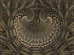 Fossil -(Fractal-Poem pong2 no.3)