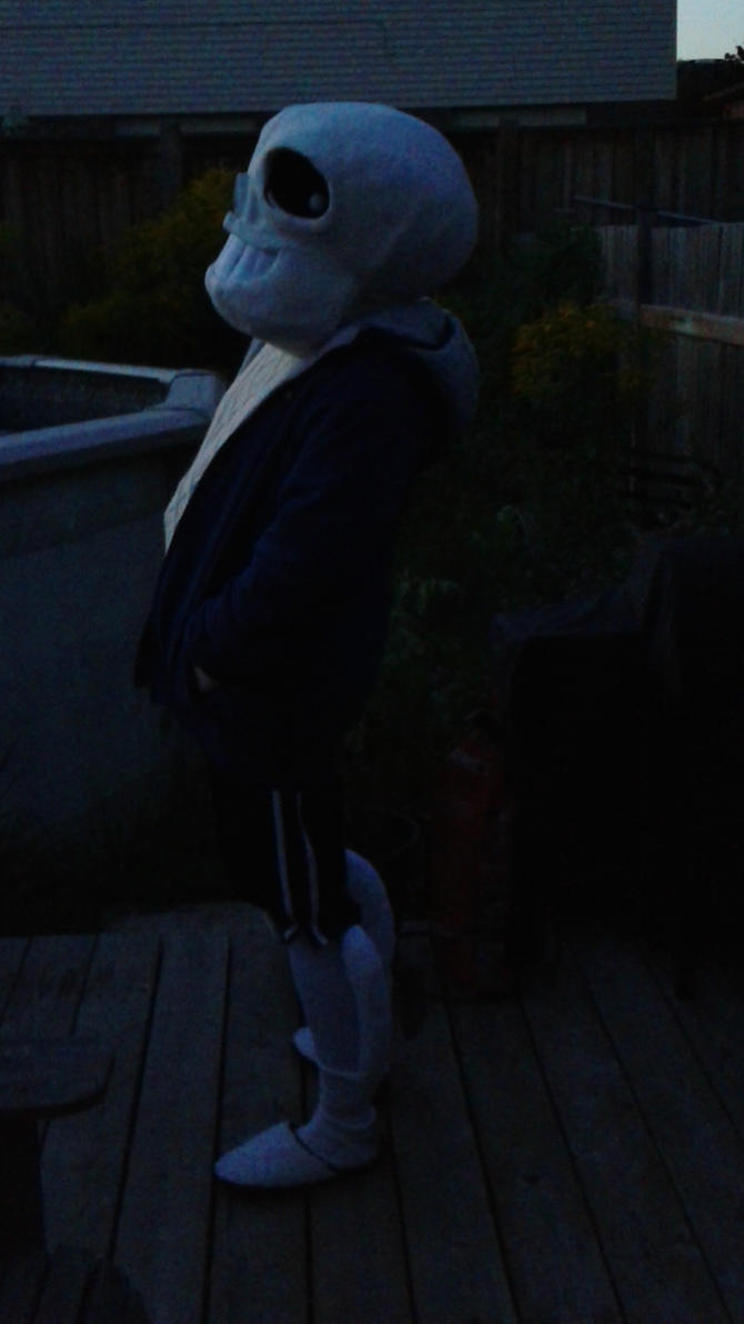 sans is Outside at Last by weathereddragon