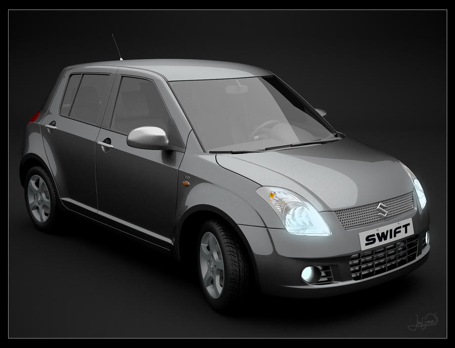 suzuki swift vvt by proenca on deviantart. Black Bedroom Furniture Sets. Home Design Ideas