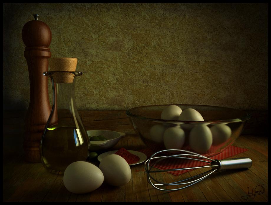 Classic Still Life - Bodegon by proenca