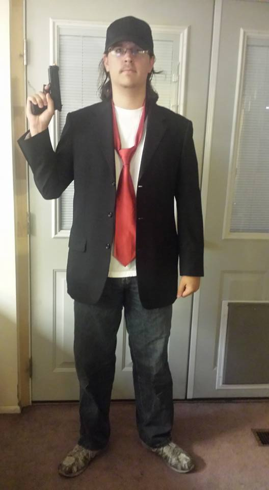 SLCC 2016 Nostalgia Critic cosplay by MYFACEISONFIRE11