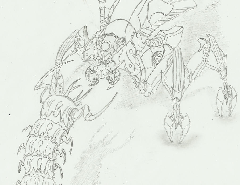 Line Drawing Vs Mass Drawing : Mass effect reaper vs thresher maw by swarmcreator on