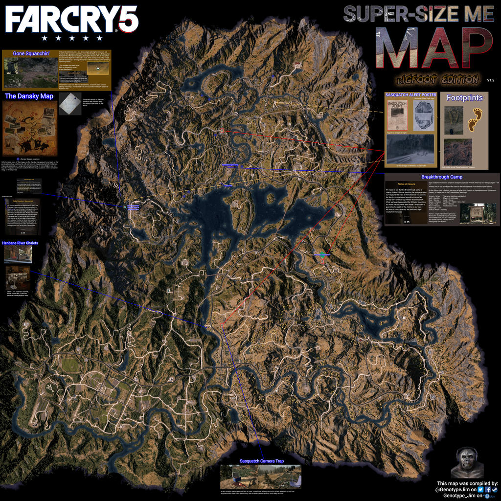 far cry 5 map size