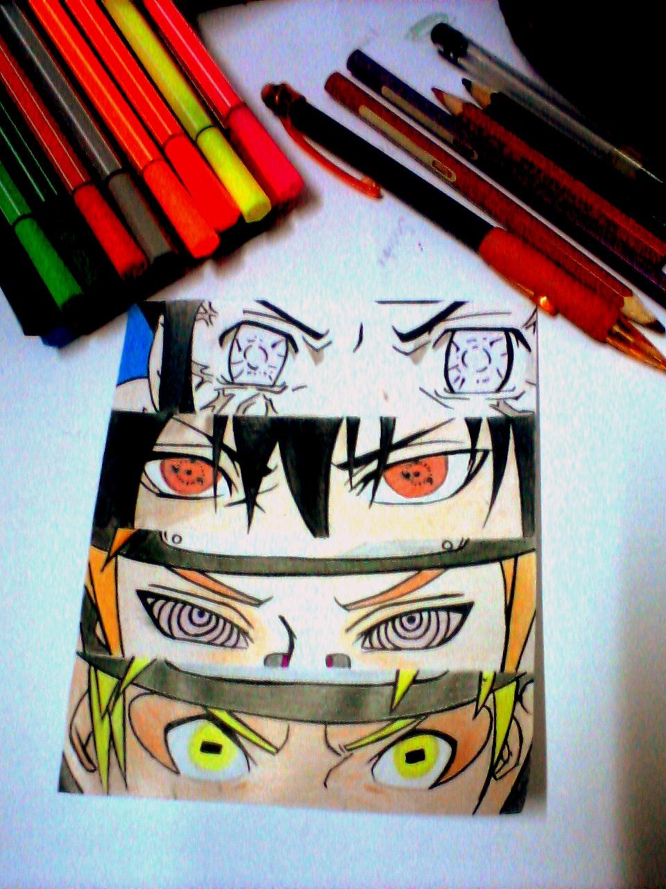 #Hinata #Sasuke #Pain #Naruto by NekoRish94