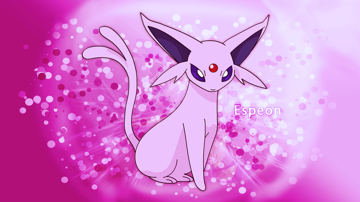espeon desktop background by kirkbutler on deviantart