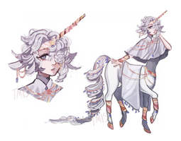 Unicorn Centaur Adopt Auction CLOSED by Tmis-Adopts