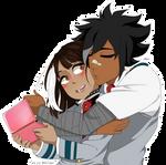 [BNHA OC] Kissing time