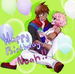 [Happy Birthday, Noah!] BNHA OC