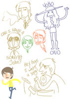 beatles doodles1455667 by Hi3ei
