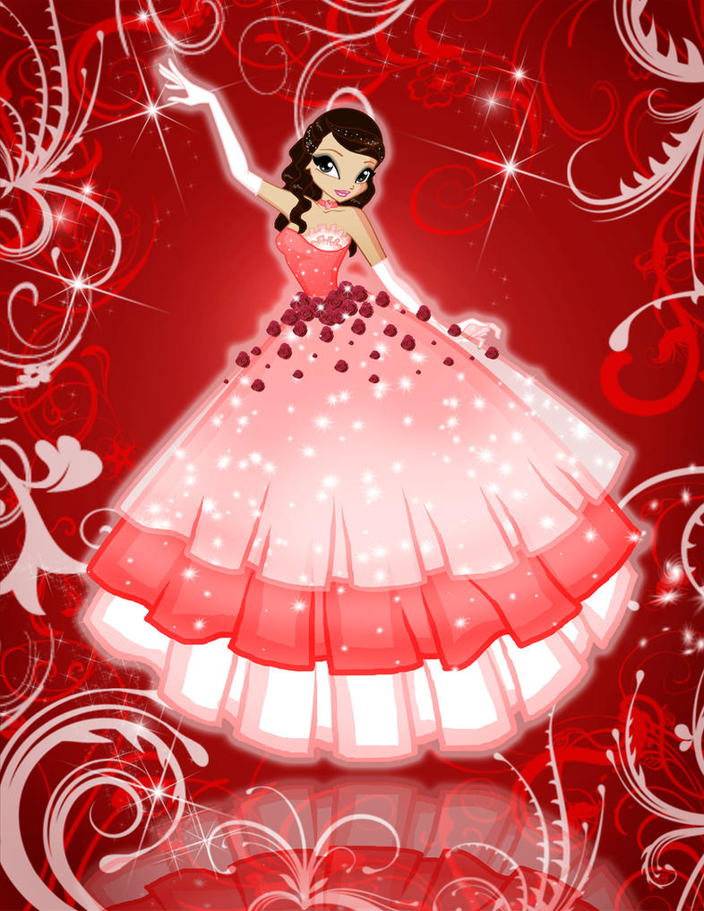 Me as Flower Princess by shweetcupcake