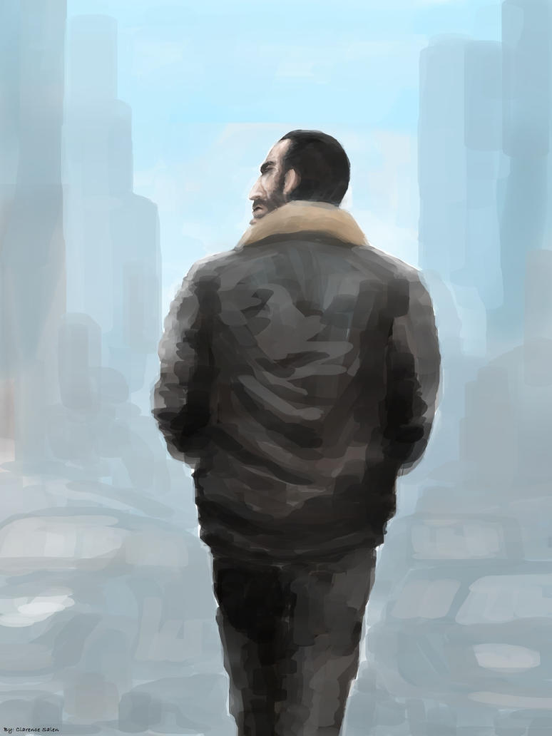 GTA 4 by molcray