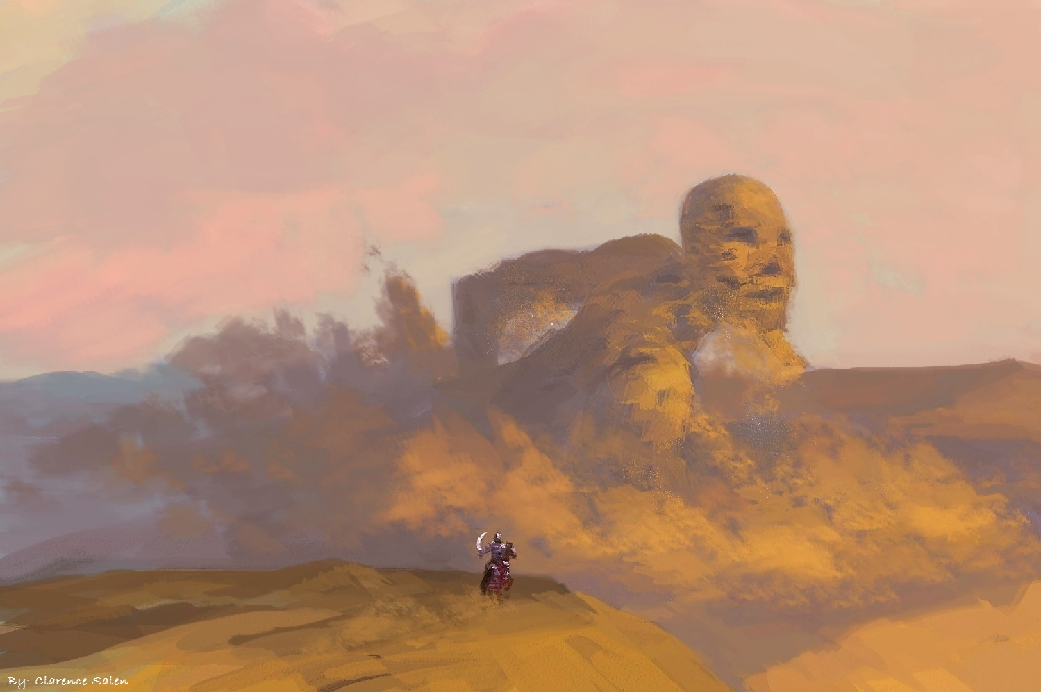Sandstorm by molcray