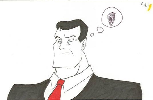 Bruce Wayne Has Got 2 Be Tired