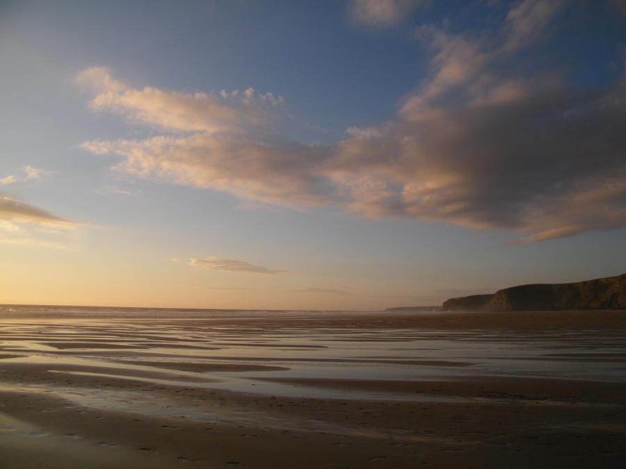 Evening beach 3