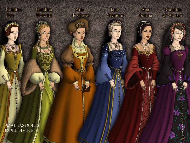 The six wives of Henry VIII by IGS1993