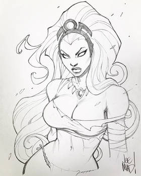Savage Land Storm (The Uncanny X-Men)