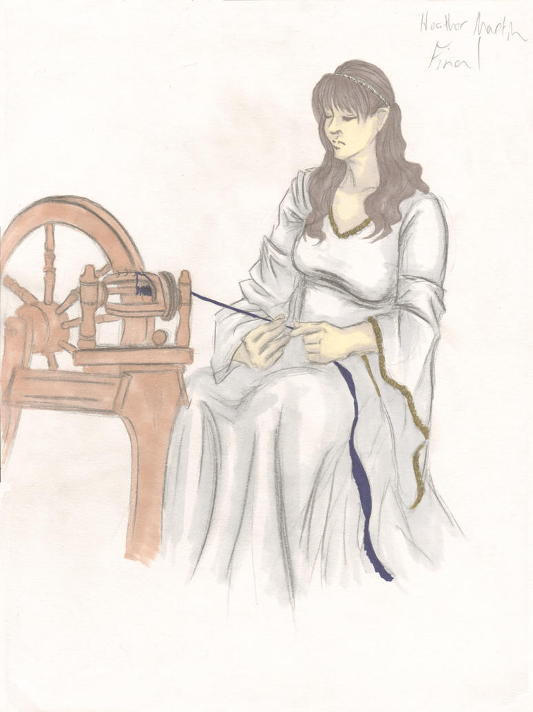 Spinning Wheel by HLMartin