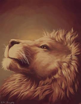 Lion Portrait [Speedpainting Video]